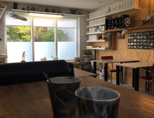 Nieuw atelier op een nieuwe locatie in Brielle!